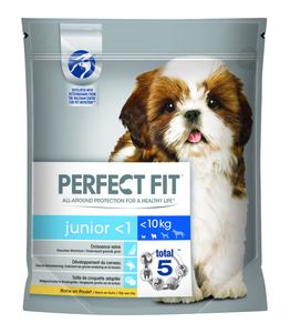 Perfect Fit Dog Trocken 1,4kg - Junior XS/S mit Huhn