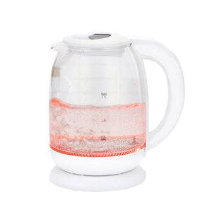 Tectro Glaswasserkocher Digital WK 189 1,7 Liter in weiß
