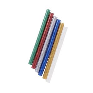 Mini-Glitzer-Heißklebepatronen 12 Stück