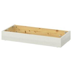 HAVSTA                                Sockel, weiß, 81x12x37 cm