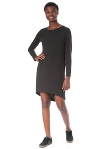 Vila Videa O-Neck L/S - Kleid für Damen - Grau