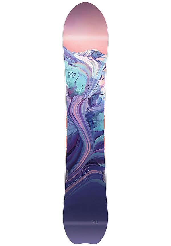 NITRO Drop 149cm - Snowboard für Damen - Lila