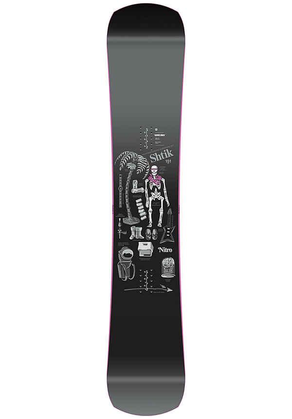 NITRO Shtik 151cm - Snowboard für Herren - Schwarz
