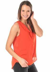 Vila Vilucy - Top für Damen - Rot