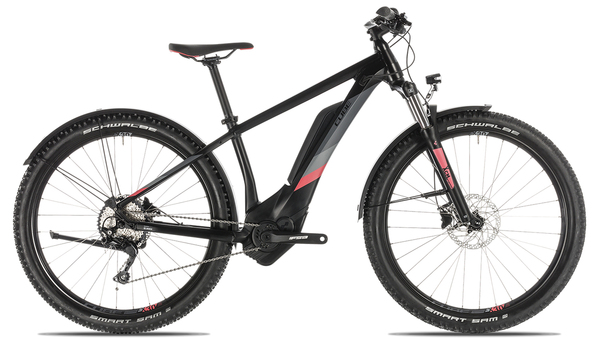 Cube Access Hybrid Pro 500 Allroad 2019 | 16 Zoll | black´n´coral | 27.5 Zoll