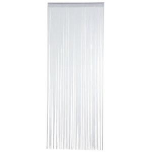 Fadenvorhang in Weiß 90 x 250 cm
