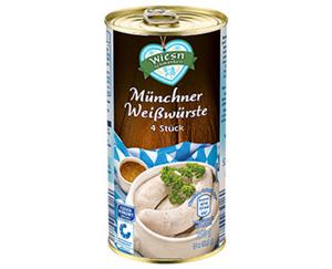 Wiesn Schmankerl Münchner Weißwürste