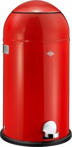 Wesco Liftmaster Abfalleimer - mit Dämpfer 33 Liter, rot