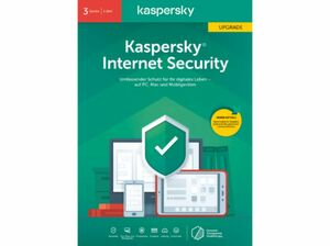 Kaspersky Internet Security 2020 - 3 Geräte Upgrade FFP