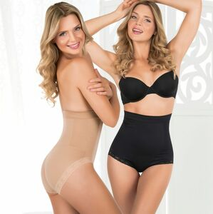 SLIMmaxx Shaping-Panty High-Waist 2er-Set 40/42 (L) beige/schwarz
