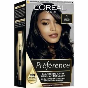 L'Oréal Paris Préférence Coloration 1 Napoli schwarz