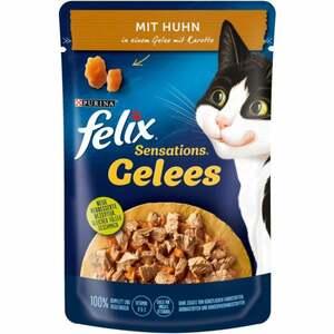 Felix Sensations Gelees mit Huhn in einem Gelee mit Kar 0.59 EUR/100 g