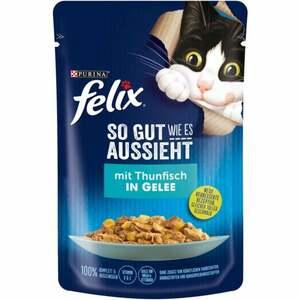 Felix So gut wie es aussieht mit Thunfisch in Gelee 0.59 EUR/100 g