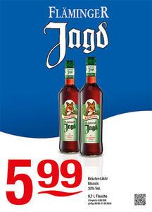 Fläminger Jagd Kräuter-Likör Klassik 30% Vol.