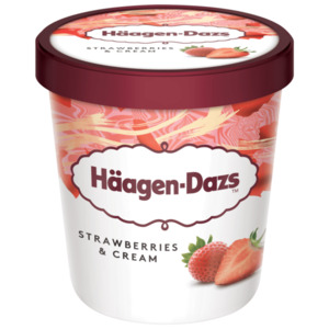 Häagen-Dazs Strawberries & Cream Eis 460ml
