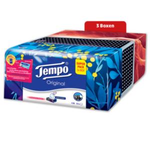 TEMPO Box mit verschiedenen Motiven