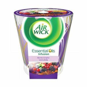 Air Wick Essential Oils Duftkerze Beeren & Gewürze 105g