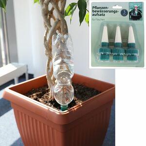 Pflanzenbewässerungsaufsatz für Flaschen 3-teilig