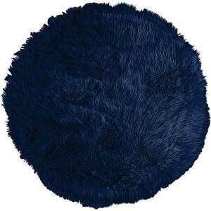 Kunstfell Teddy Blau 80cm