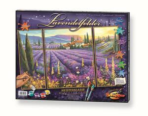 Malen nach Zahlen Lavendelfelder