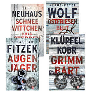 BILD am SONNTAG Thriller Edition  »Mord aus deutschen Landen«