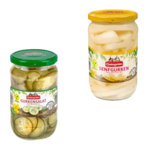 KLOSTERGARTEN     Gurkensalat / Senfgurken