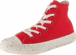 Kinder Sneakers High Chuck Taylor All Star rot Gr. 31,5 Mädchen Kinder