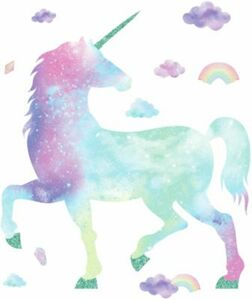 Wandsticker Galaxy Unicorn