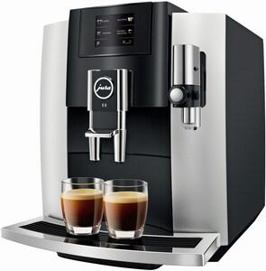 JURA E8 Touch (Modell 2019) Kaffee-Vollautomat Platin