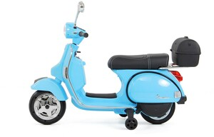 Actionbikes Vespa PX150 Elektroroller blau