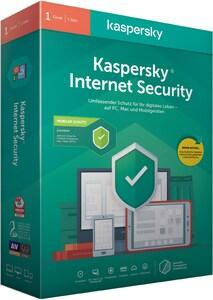 Kaspersky Internet Security 2020 für 1 Gerät + 1 Android Gerät