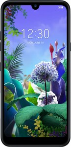 LG Q60 Smartphone aurora black