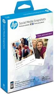 HP Social Media Snapshots 25s 10x13cm