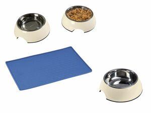ZOOFARI® Futter-/Futter und Trinknapf/Napfunterlage