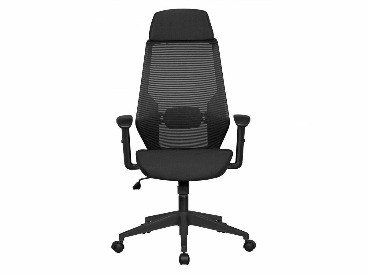 Bild 3 von AMSTYLE NetStar - Bürostuhl Stoff-Sitzfläche schwarz Schreibtischstuhl Drehstuhl