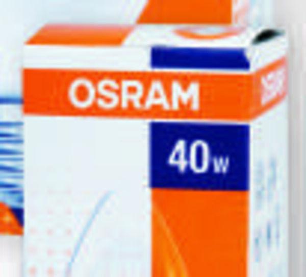 OSRAM Leuchtmittel