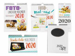 Bastel-/Fotokalender 2020