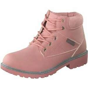 KangaROOS Schnür Boots Mädchen rosa