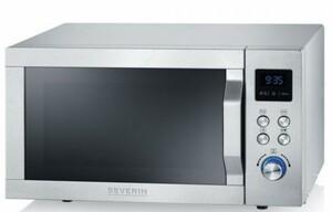 Severin Mikrowelle MW7753 ,  mit Grill- und Heißluftfunktion + Pizza Teller