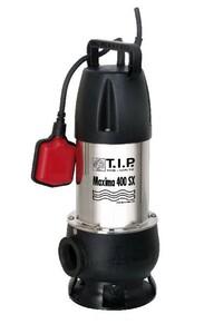 T.I.P. Schmutzwassertauchpumpe Maxima 400 SX | B-Ware - der Artikel wurde vom Hersteller geprüft und ist technisch einwandfrei - weist Gebrauchsspuren auf - volle gesetzliche Gewährleistung