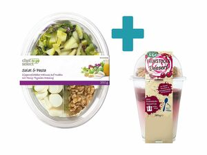 Salat & Pasta + Müsli-Becher
