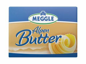 Meggle Alpenbutter/ Streichzart/ Joghurtbutter