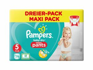 Pampers Baby-Dry Windeln/Pants