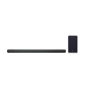 LG SL10YG, Schwarz - 5.1.2 Soundsystem (Dolby Atmos, 570W, Meridian Audio, AI ThinQ, Google Assistant)