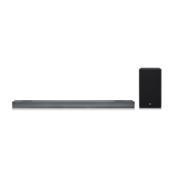 LG SL9YG, Schwarz - 4.1.2 Soundsystem (Dolby Atmos, 500W, Meridian Audio, AI ThinQ, Google Assistant)