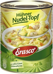 Erasco Hühner-Nudeltopf mit Hühnerbrühe 800 g