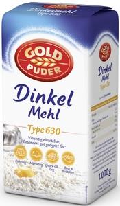 Goldpuder Dinkelmehl Type 630 1 kg