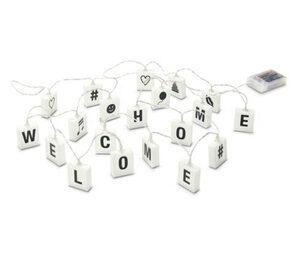 LED-Lichterkette mit Buchstaben