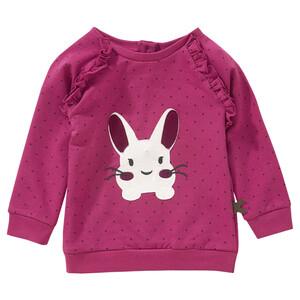 Baby Sweatshirt mit Rüschen