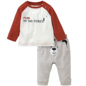 Baby Langarmshirt und Jogginghose im Set